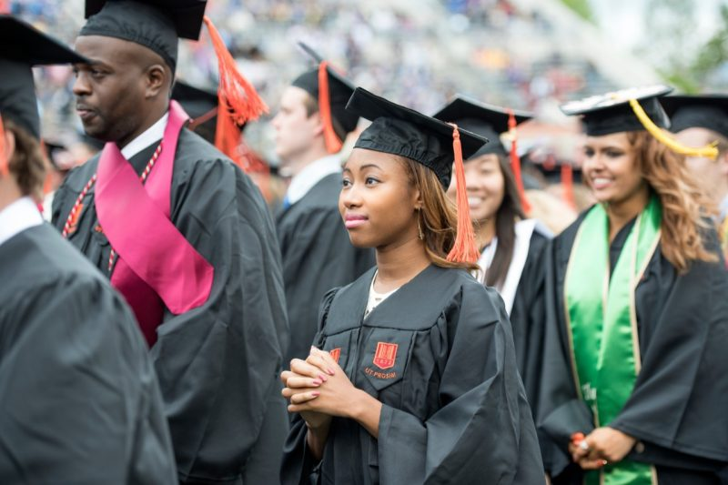 University Undergraduate Commencement, Graduation, Lane Stadium